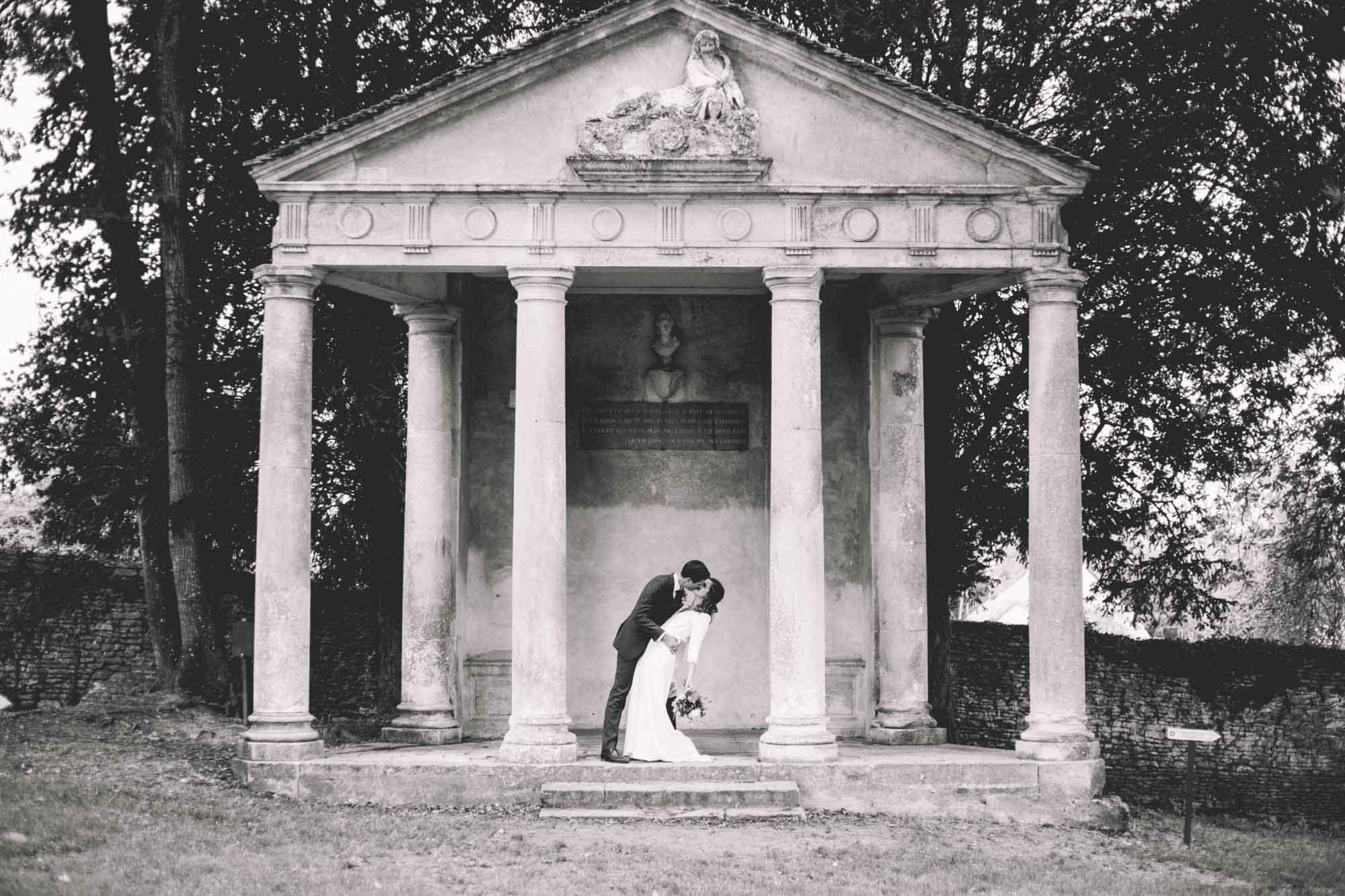LEA + GUILLAUME_CHATEAU DE CANON_PHOTOGRAPHE MARIAGE_LES BANDITS